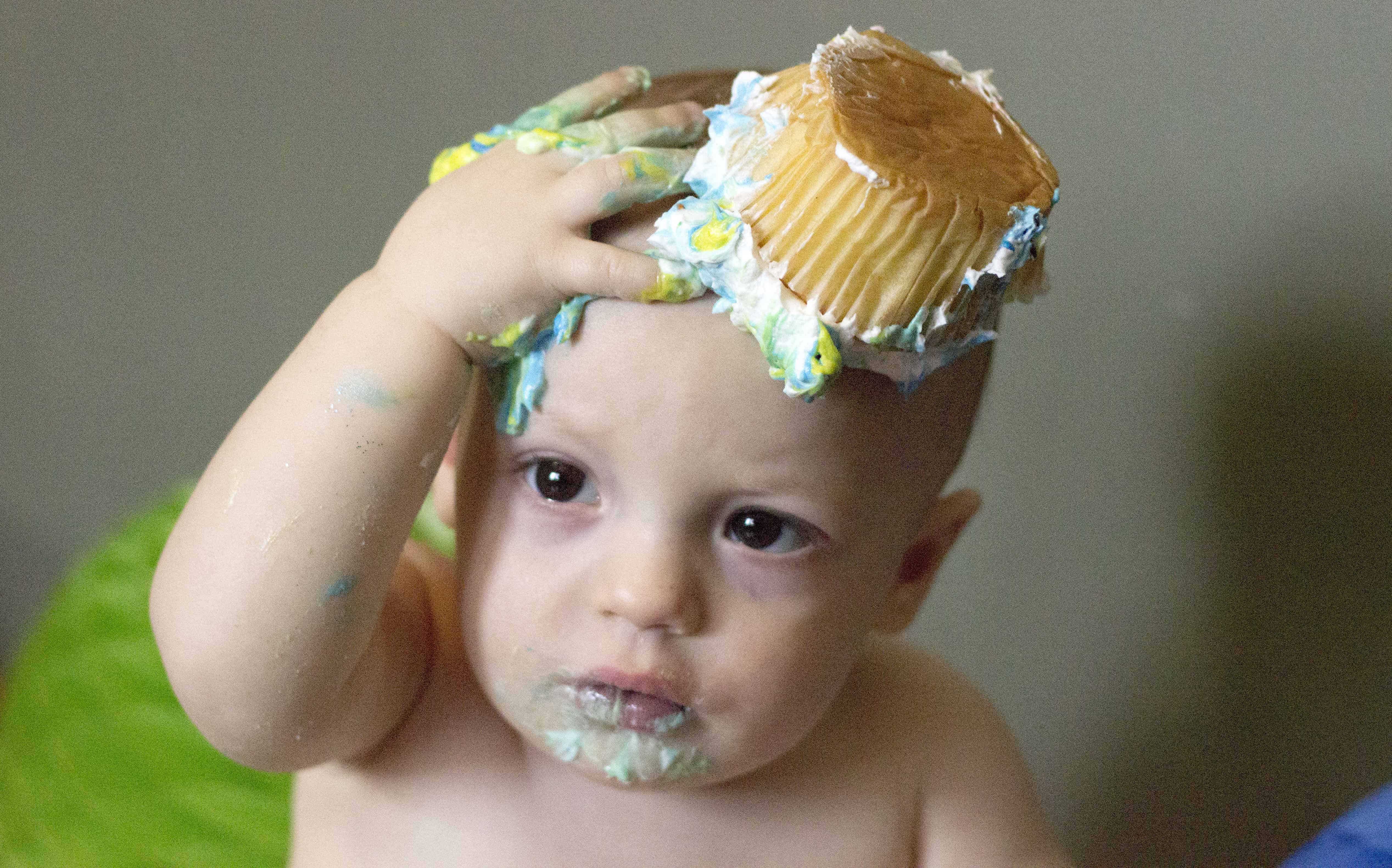 baby portrait for birthday party