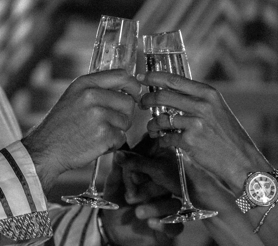 Cheers to an Engagement