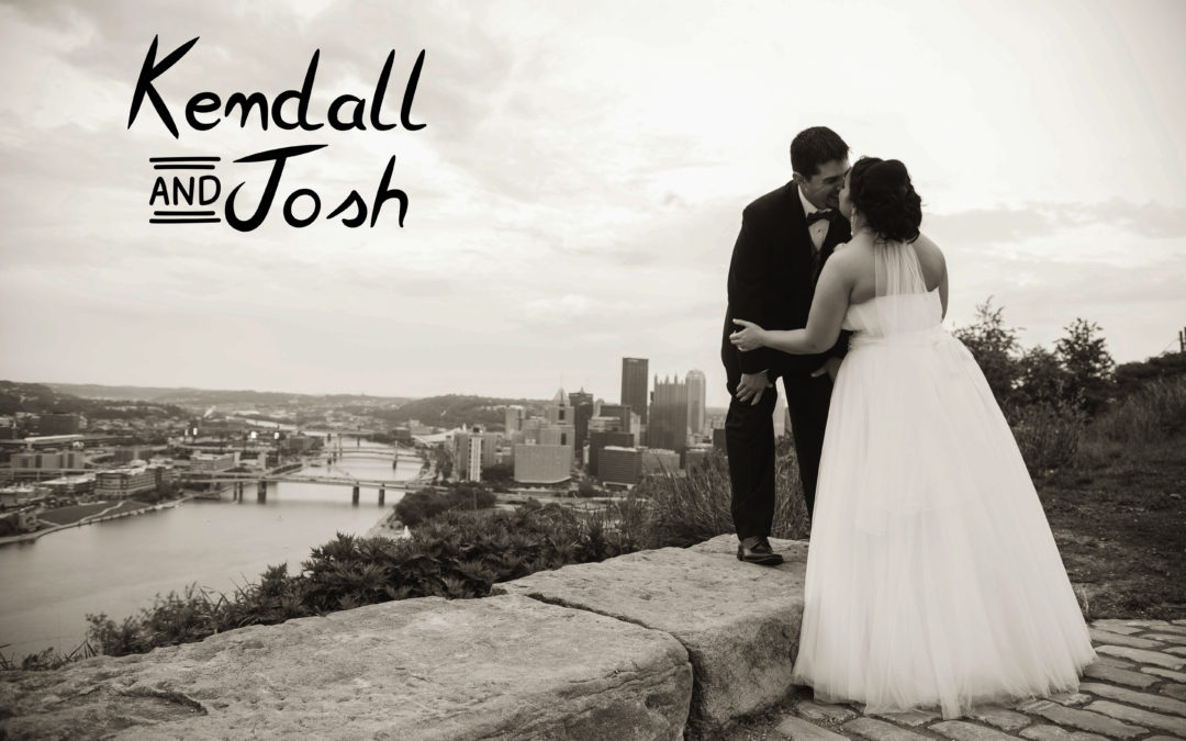 Kendall & Josh | Uniontown Wedding Photography | Mt. Washington Overlook