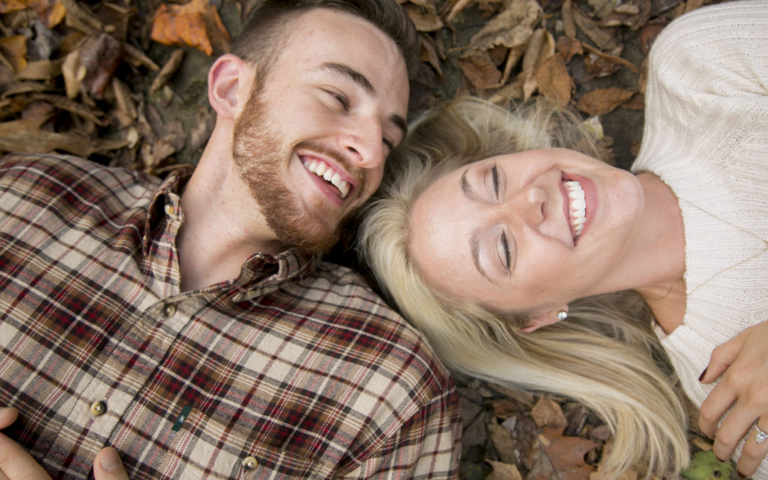 Meet the Jacksons | Ohiopyle Engagement Photography | Fall Photo Inspirations